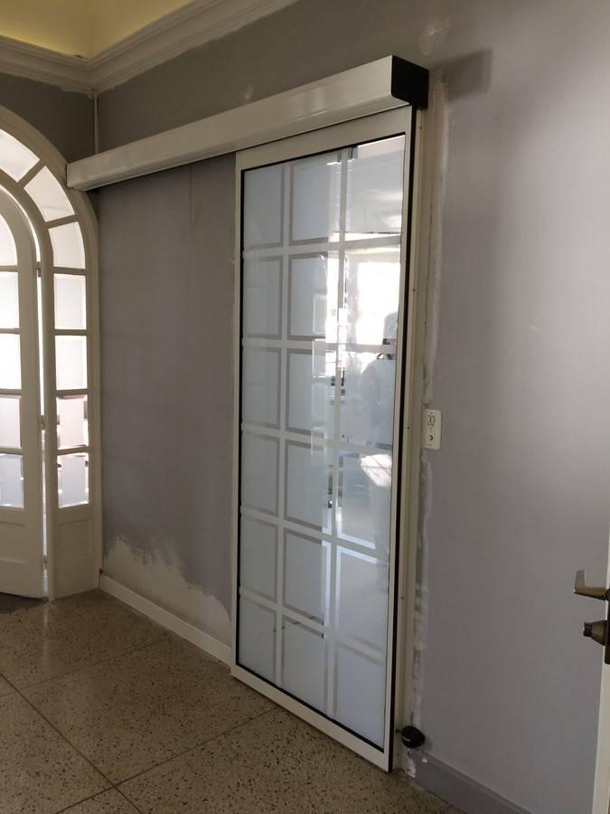 porte automatique coulissante install e saint raphael dans le var pose automatismes de. Black Bedroom Furniture Sets. Home Design Ideas